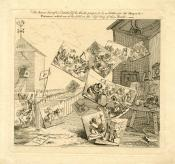 William Hogarth, La bataille des images, British Museum